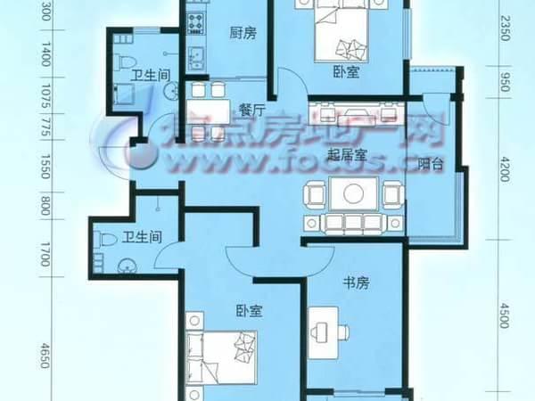 云锦蓝庭-户型图4