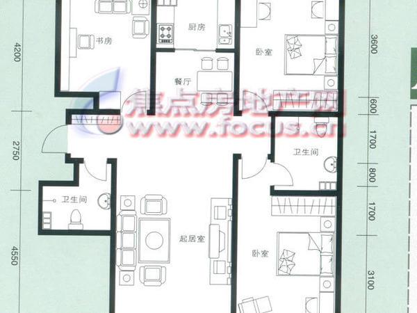 云锦蓝庭-户型图6