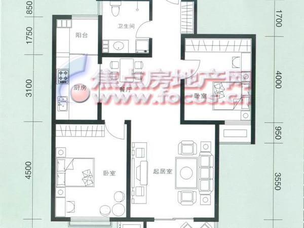 云锦蓝庭-户型图2
