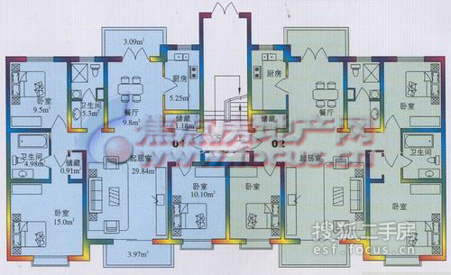 翠金园-户型图3