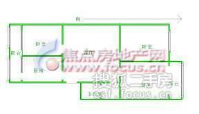 科园云居公寓-户型图3