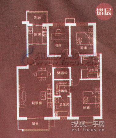 海韵家园-户型图3