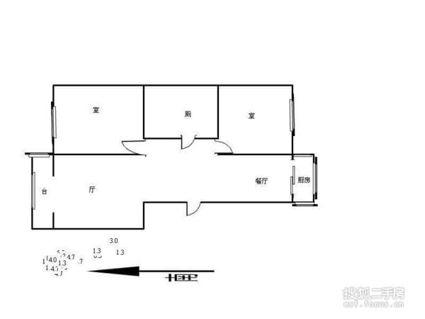 悦盛园-户型图3