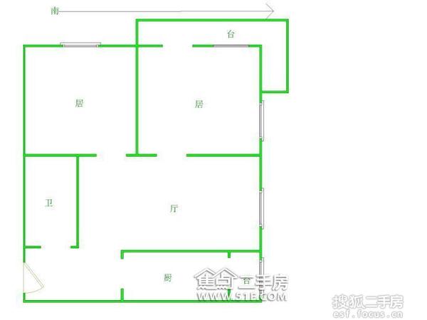 风荷新园-户型图4