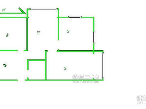 风荷新园-户型图5