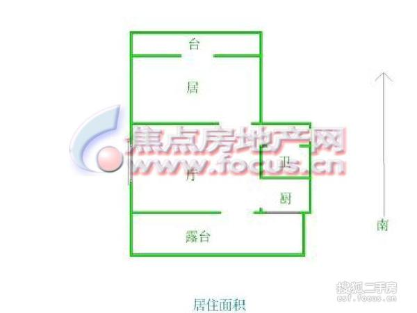 仁爱花园-户型图6