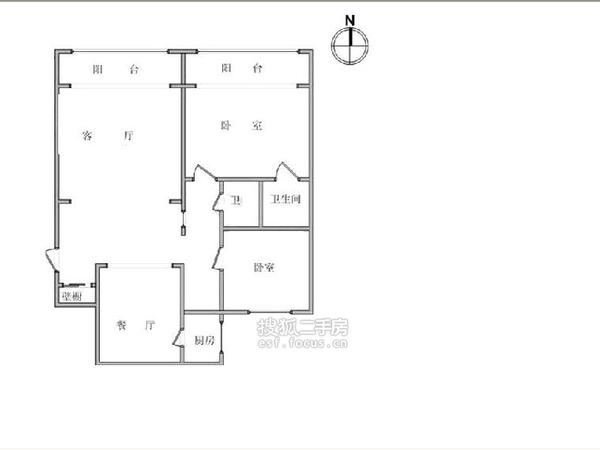 新城市花园-户型图6