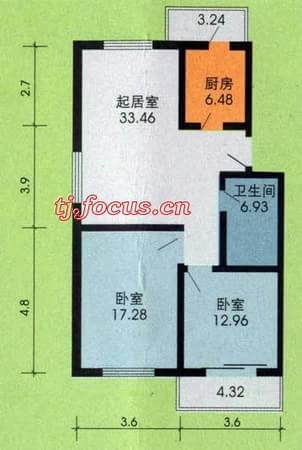 东盈园-户型图3