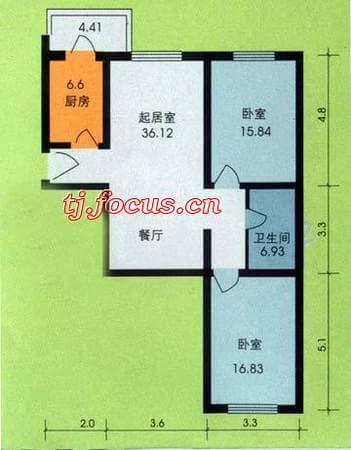 东盈园-户型图5