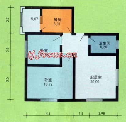 东盈园-户型图6