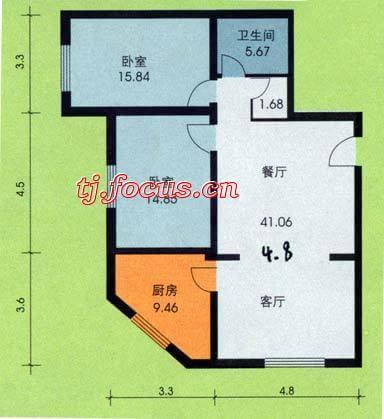 东盈园-户型图8