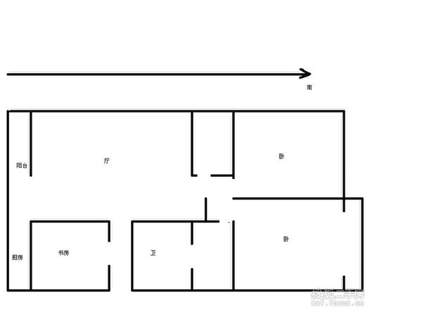 科园云居公寓-户型图5