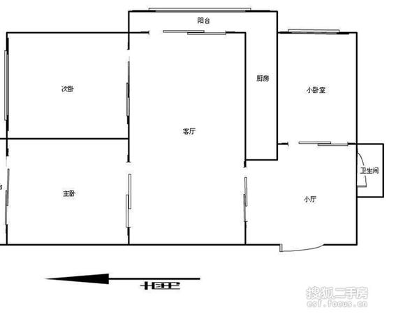 科园云居公寓-户型图6