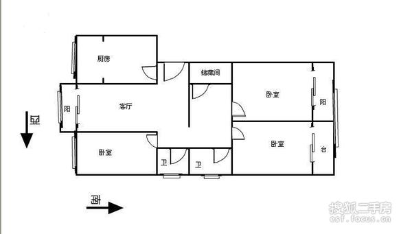 德恩公寓-户型图8