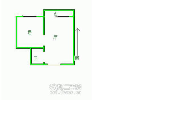 跃进里小区-户型图3