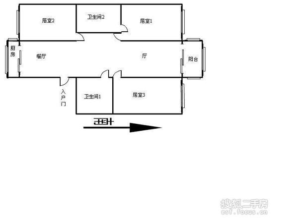 宜昌公寓-户型图4