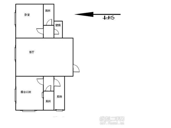 程林北里-户型图3