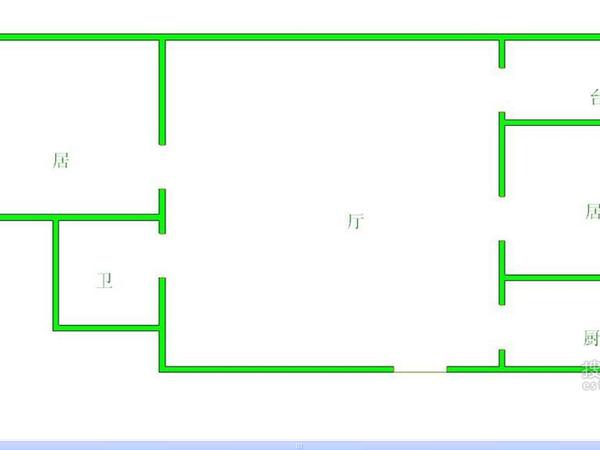 天泰公寓-户型图3