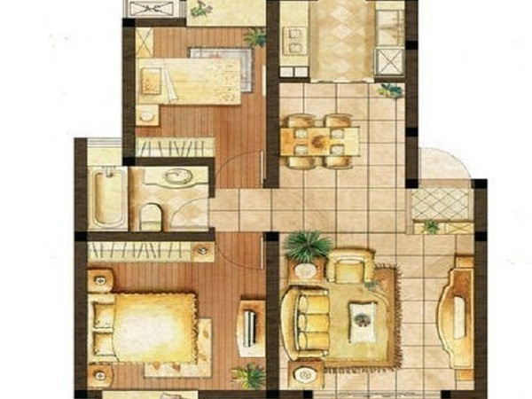 地鐵口 精裝修 兩房改三房絕對的超值享受 圓您一個住在地鐵旁