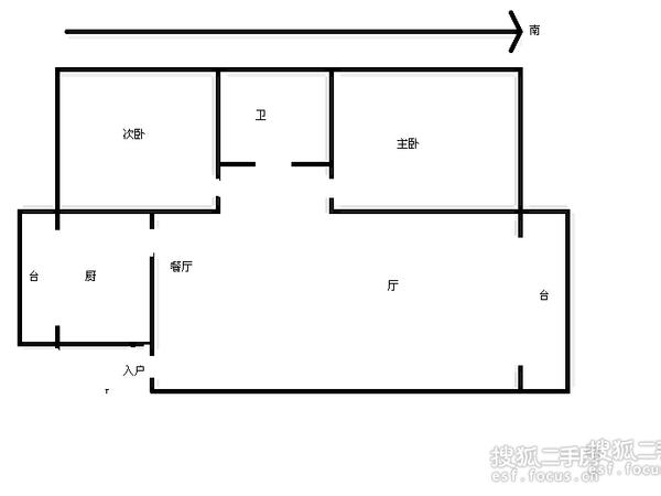 河怡花园-户型图6