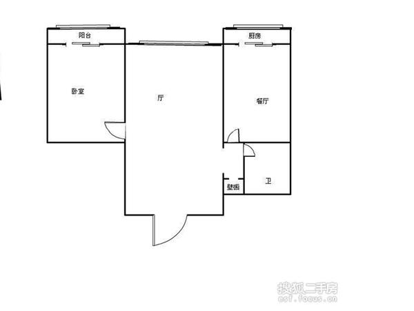 天泰公寓-户型图4