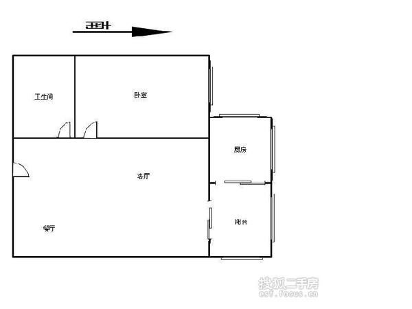 河大宿舍-户型图3