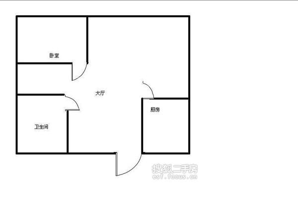 天泰公寓-户型图5