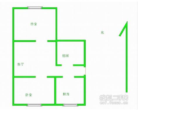 红磡领世郡康桥花园-户型图2