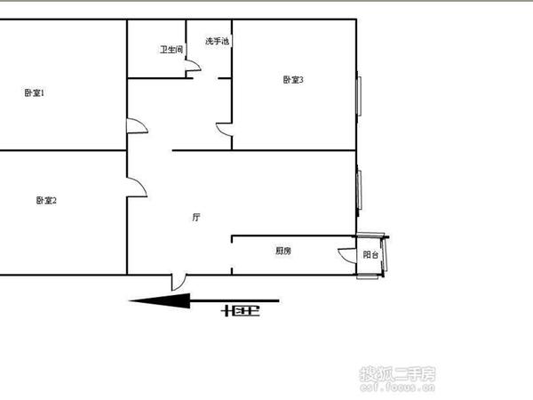 碧水世纪园-户型图5