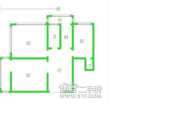 碧水世纪园-户型图6