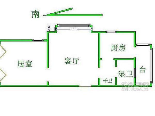 万科水晶城世奇园-户型图4