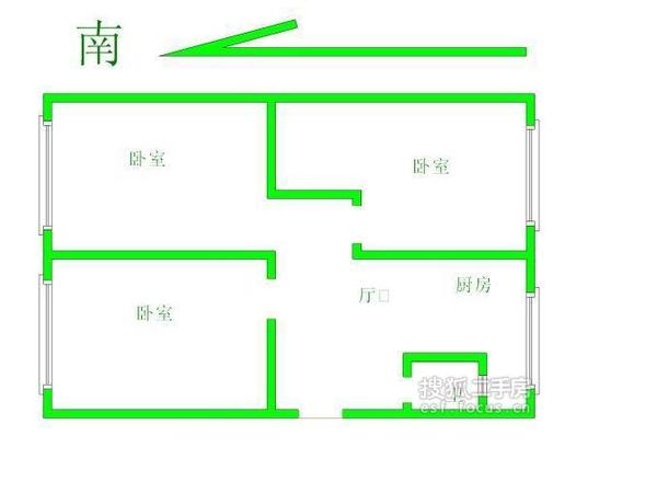 碧云里-户型图4
