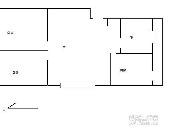 香港花园-户型图6