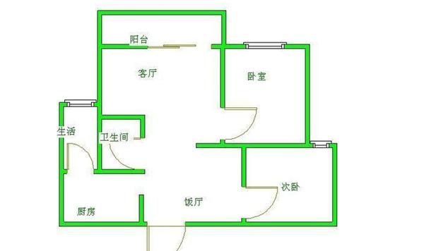 万科新城紫藤苑-户型图2
