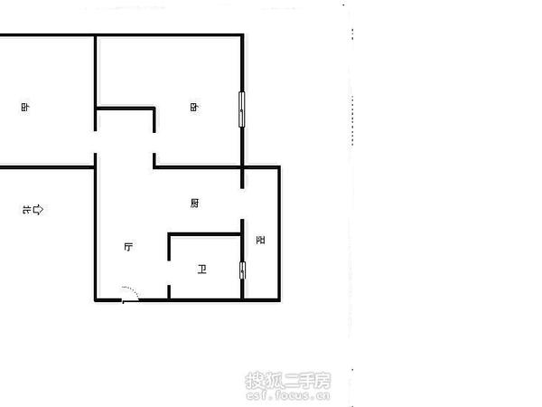 双峰里-户型图5