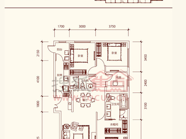 富力城-户型图4