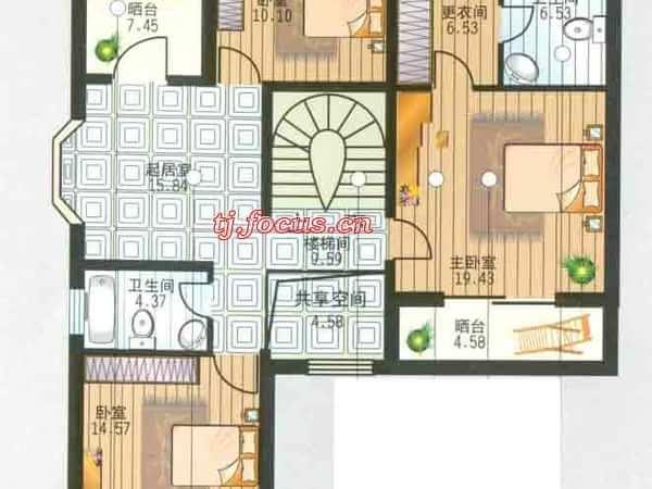 福华里·大港区-户型图4
