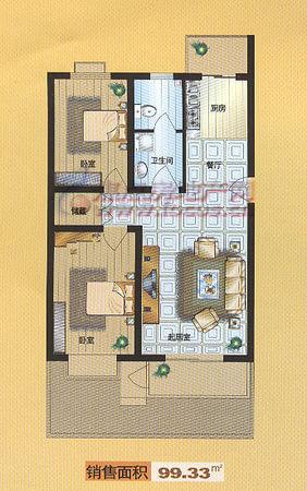 福华里·大港区-户型图6