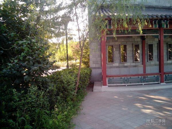 北京小区 顺义小区 中央别墅区小区 观唐中式宅院