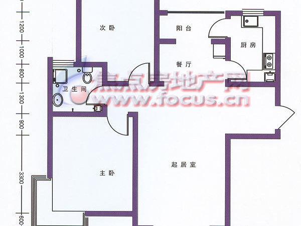 贻芳嘉园-户型图7