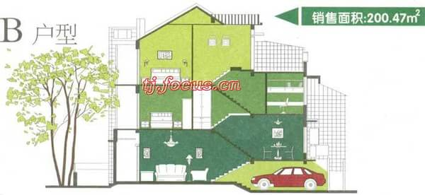 阳光小镇-户型图4