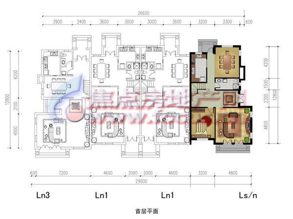 夏阳溪韵风景湾-户型图6