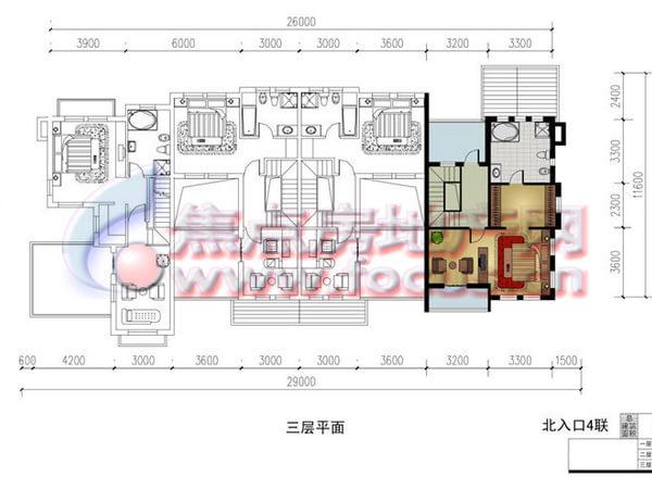 夏阳溪韵风景湾-户型图8