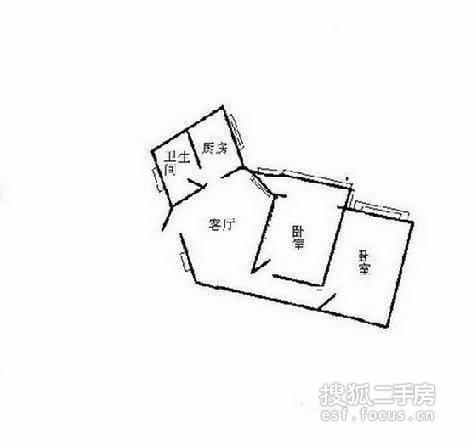 浦东区 金桥 长岛公寓小区 精装修 76平米2室2厅厅1卫卫