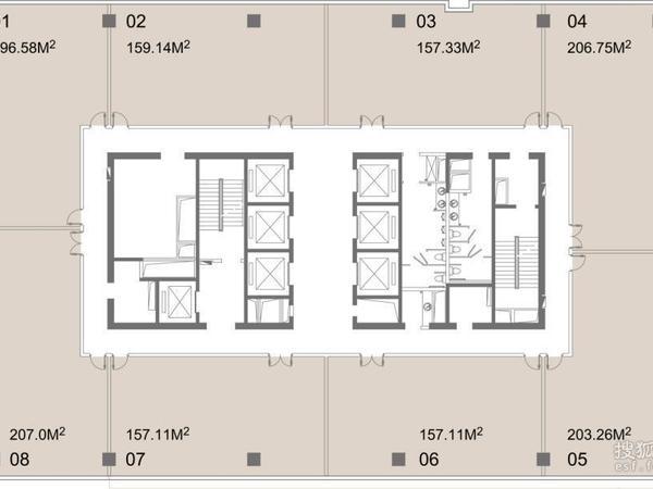 绿地滨江板块超5a甲级写字楼海外滩中心新房出售