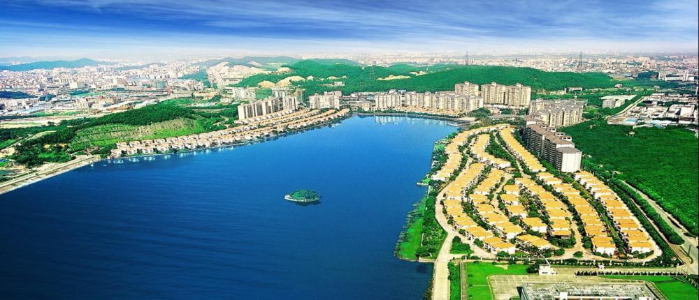 碧桂园海边城市宣传图