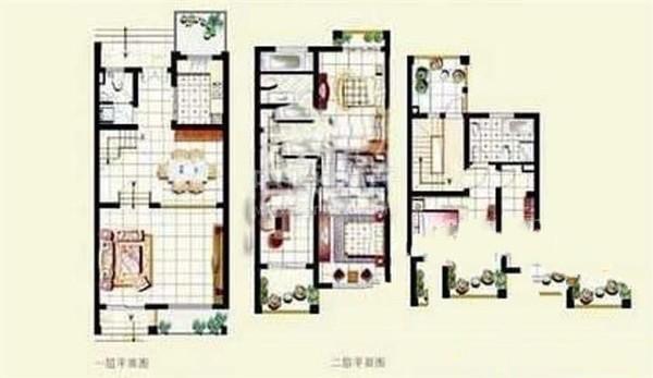 六期最低单价带电梯别墅,花园260平北临河,环境媲美绿城玫瑰