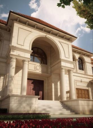 丽兹豪宅独院别墅 私家庭院