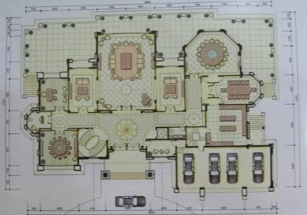 观澜湖超大气独栋别墅,1000㎡大花园,带室内电梯