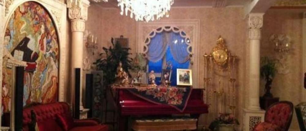 业主自己私珍藏多副名画,欧式皇宫宫殿风格,犹如皇宫贵族般奢华!图片